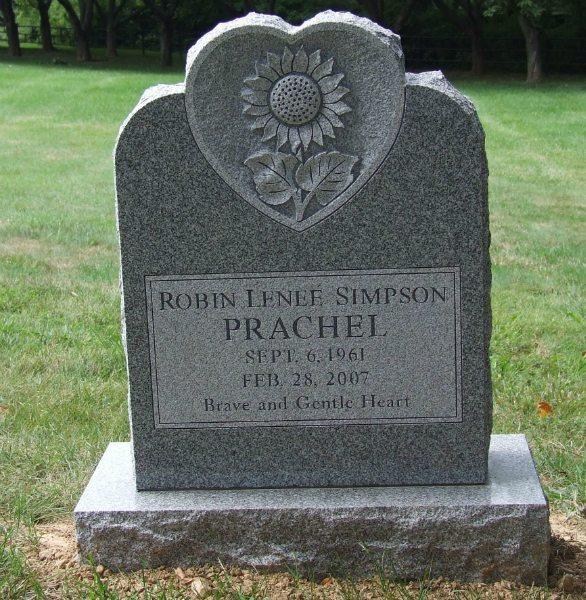 Carroll Memorials, Individual Headstone, 2